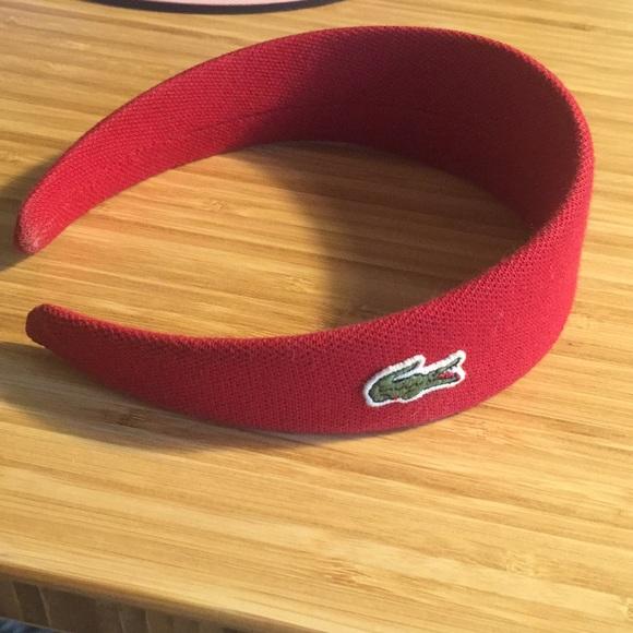 Lacoste Accessories - Lacoste polo headband 718d54f6eb9